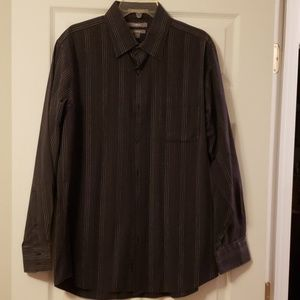 Kohls Apt 9 Mens Striped Dress Shirt